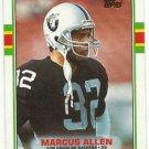 1989  Topps  # 267   Marcus Allen   HOF'er