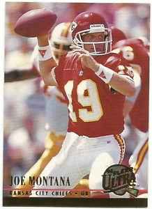 1994   Fleer Ultra    # 145   Joe Montana   HOF'er