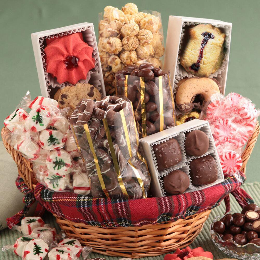 Christmas Bakery Gifts - No Sugar Added Holiday Goodies Gift ...