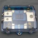 APS DUAL DIGITAL PLATINUM ANL DIST BLOCK 0-4 GAUGE FUSE HOLDER SKFH062G