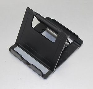 APS Universal Fold stand for MINI PORTABLE PHONE TABLET STAND HOLDER DOCK black