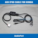 APS For iPOD iPHONE 3G 4 4S NANO TOUCH AUX INTERFACE ADAPTER INPUT for Honda