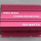 APS 2CH 150W 12V RCA PLAY Mini AMP MP3 Car Motorcycle Amplifier AMZ-2100