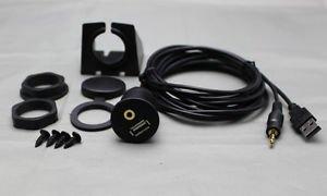 APS USB/Aux Accessory Extension Cable USBAUX-EC FOR SUBARU Car audio cable