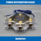 APS US SHIPPING Power /Ground Distribution Block 2 4 Gauge In /Out Amp Install