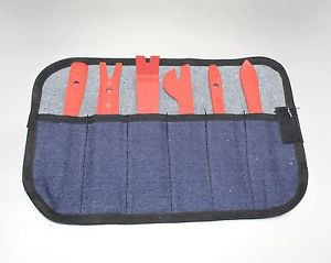 APS 6 pc TRIM REMOVAL TOOL KIT DOOR PANEL INTERIOR WEDGE PRY CLIP FOR AUDI