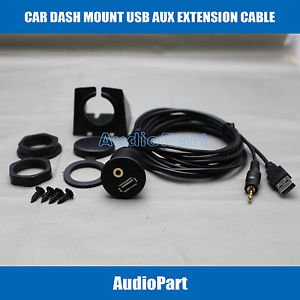 APS Car Dash Mount Installation USB/Aux Accessory Extension Cable USBAUX-EC