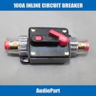 APS 100A Car Audio Inline Circuit Breaker Fuse for 12V Protection CB04-100A