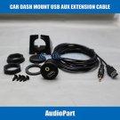 APS Car Dash Mount Installation USB/Aux Extension Cable USBAUX-EC for Opel