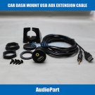 APS Car Dash Mount Installation USB/Aux Accessory Extension Cable for GM