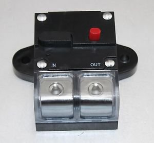 APS 0 OR 4 GAUGE 150 AMP CAR STEREO 12V INLINE POWER CIRCUIT BREAKER CB-08