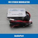 APS Factory Radio Stereo Aux RCA Audio Input Adapter Wired FM Modulator