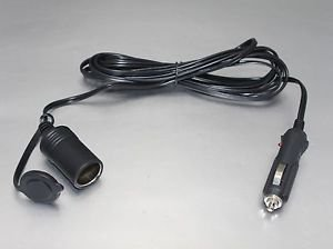 APS Universal High Quality Car Cigarette Lighter Socket  Extension cable CS-04