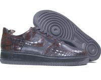 Air Force 1 07 Low Lux Masterpiece Crocodile Edition (baroque brown / baroque brown metallic gold)