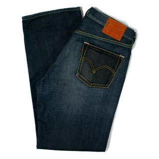 LEVI'S  503 WASHED DENIM
