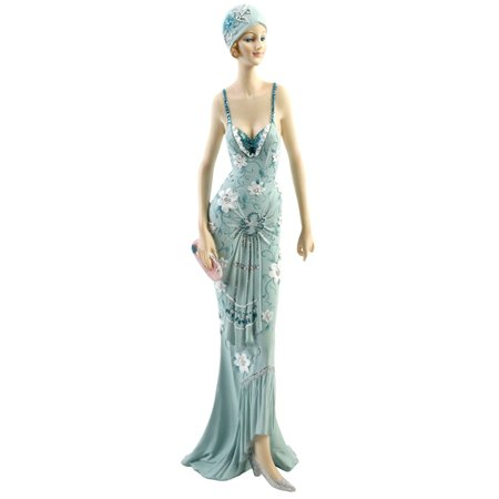 Art Deco Broadway Belles Lady Figurine Statue