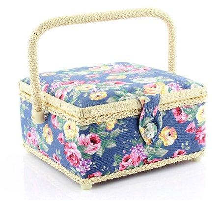 Rose sewing basket