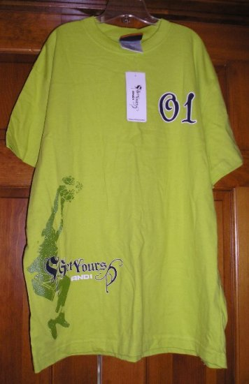 And1 Boys or Girls T-Shirt or Top NEW Basketball Size XL
