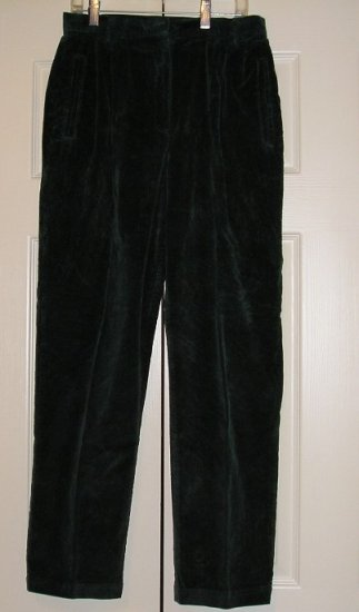 Liz Claiborne Womens Teens Corduroy Pants New Size 8P