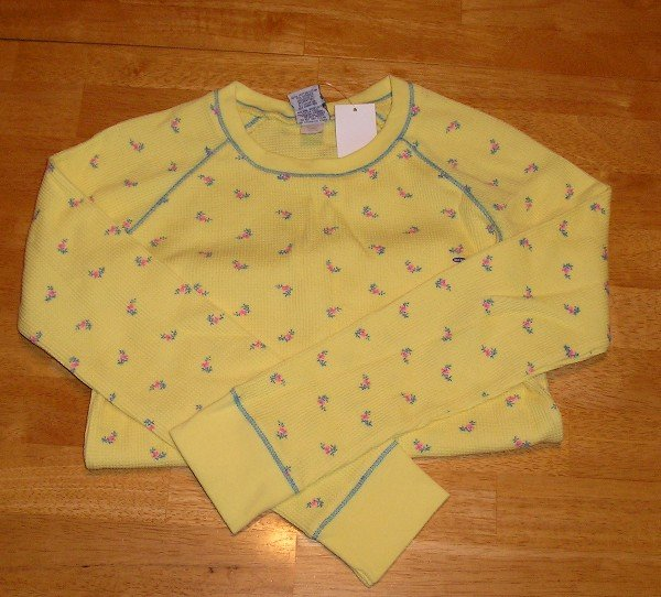 NWT Girls LS Shirt Old Navy - Sz. Large Yellow!