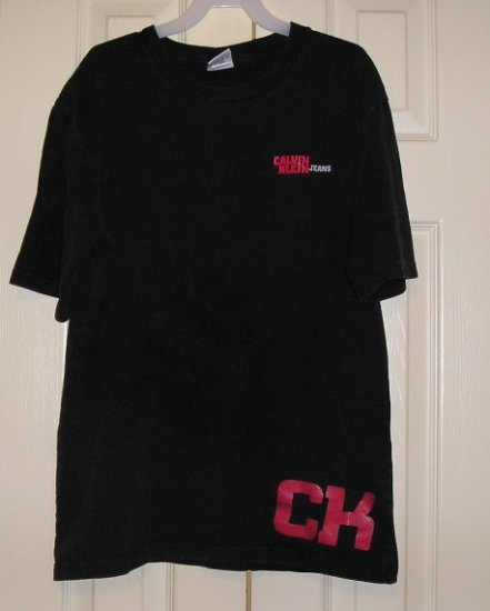Vintage Calvin Klein Shirt Boys L Black Exc condition!