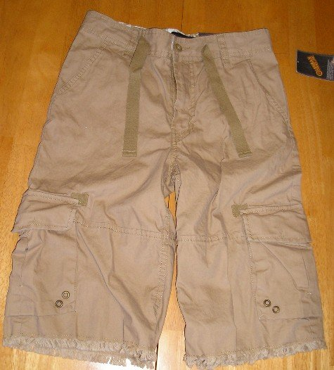 Urban Pipeline Brand Boys Shorts sz 10 Khaki Color NEW!