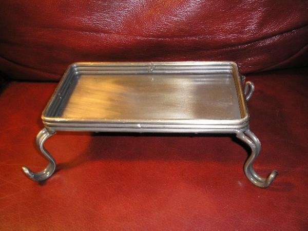 New Plant or Candle Stand - Metal Antique Finish GREAT!