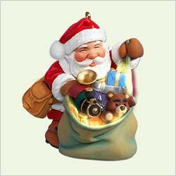 Hallmark Santas Magic Sack VIP Colorway Ornament NEW