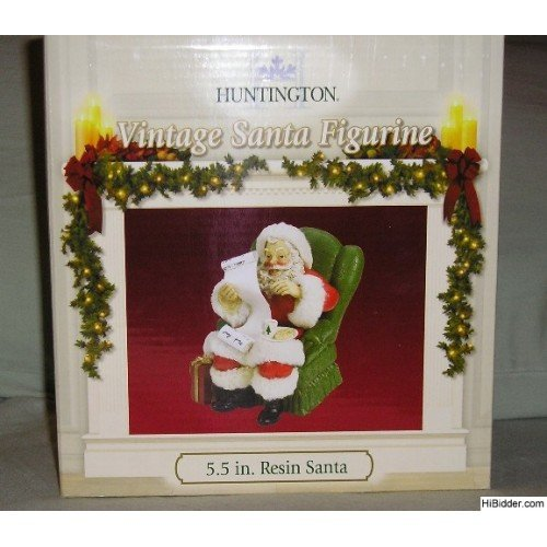 Vintage Santa Figurine - New in Box 5.5 Inches NICE!