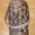 NEW Wooden Wine Bottle Holder Woven Wood Decoration GIFT!!