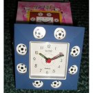 New Blue Soccer Clock Soccer FANs will LOVE!