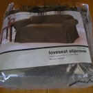 NEW Waffle Weave LoveSeat SlipCover Maiden Green