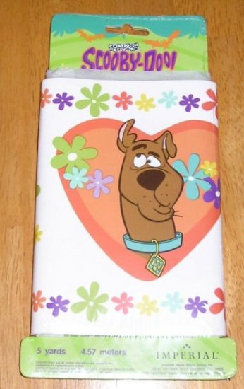 NEW Scooby-Doo Scooby Doo Wallpaper Border 5 Yards Prepasted!