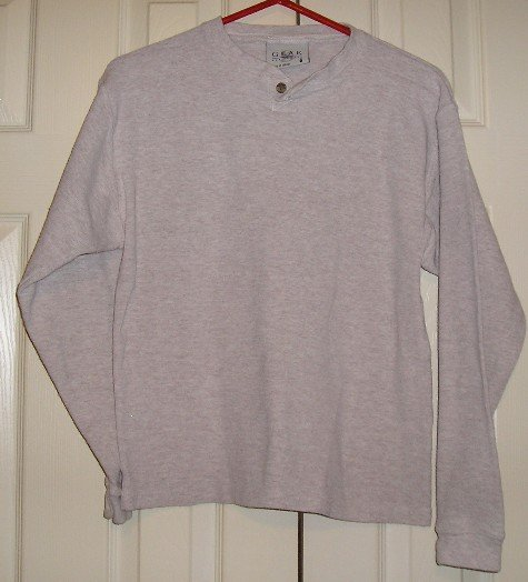 Boys Gear LongSleeve Like New Tan Shirt Mens S!