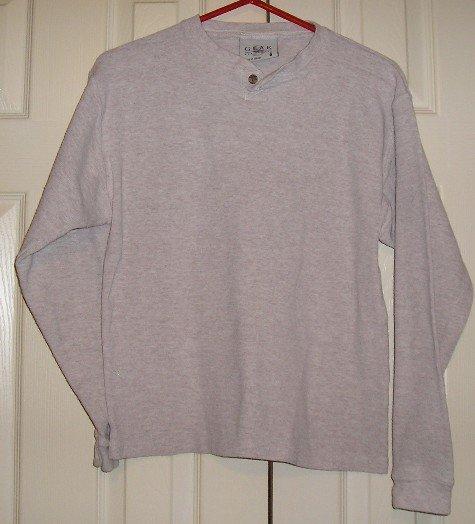 Boys Gear LongSleeve Like New Tan Shirt Mens S!