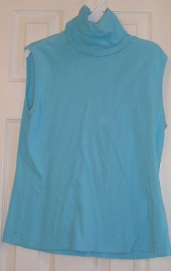 Womens Teens Tank Top Sky Blue Layer Up GR8