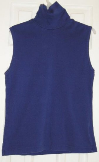 Womens Teens Tank Top Navy Blue Layer Up!