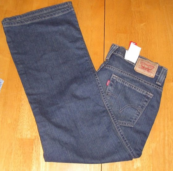 Womens NEW 4 Short Levis Levis Low Rise Stretch Jeans Nouveau!
