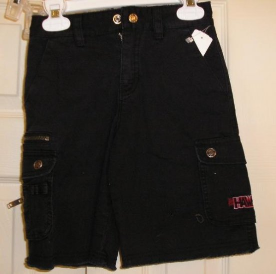 New Tony Hawk Skate Shorts Black Size 5 Skateboarding!