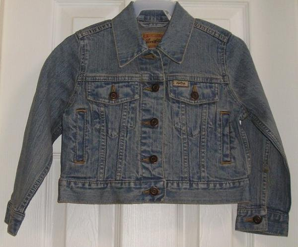 NeW Girls Jean Jacket XS - Vintage Levis - Denim Cute!
