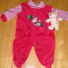 NEW Winter SALE Baby Outfit 6-9 M + Bonus Plush GIFT!
