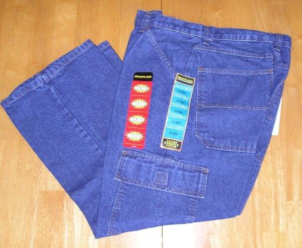 NWT 14H Rustler Cargo Jeans Boys Teens NEW Save!