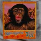 NEW Menagerie Monkey Face Puzzle 100 Pcs Kissing!
