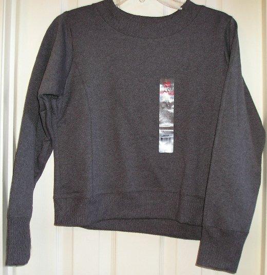 Hanes New Style Womens SweatShirt Gray Medium NEW Tagless Style