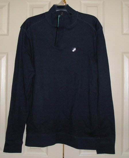 Old Navy Vintage Style SweatShirt Fleece Medium Henley Front NEW