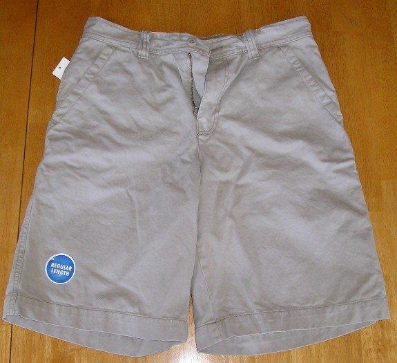 Old Navy Loose Fit Khaki Shorts Mens 30 Waist Teens Boys Too TAN!