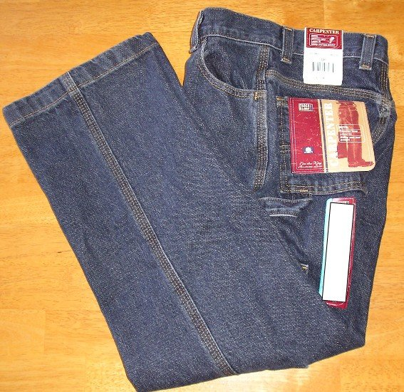 Faded Glory Boys Jeans 10R Carpenter Style Denim NEW