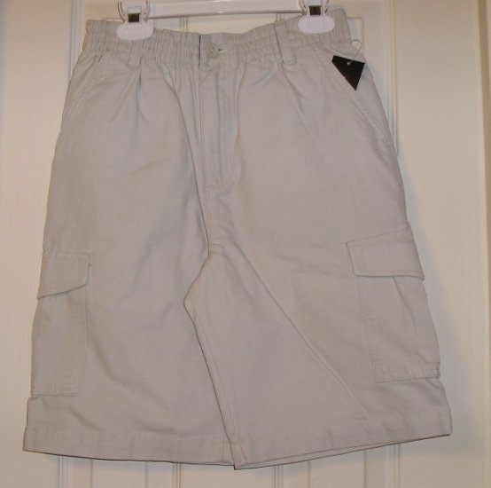 Sonoma Boys Tan Cargo Shorts Medium NEW Golf Dress