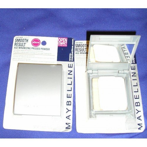 Maybelline Smooth Results Press Powder Light Beige Age Minimizing NEW
