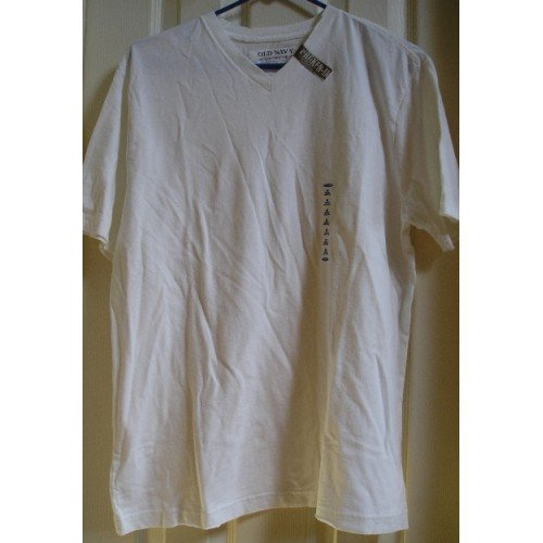 Old Navy Vintage Tee Broken In T-Shirt T Shirt White Mens Medium Teens Boys SALE